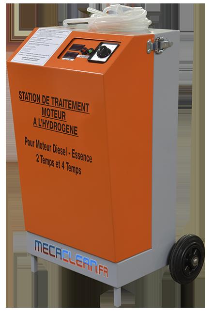 Nouvelle machine de decalaminage MECACLEAN COMPACT